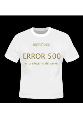 ERROR 500 - NO SIGNAL