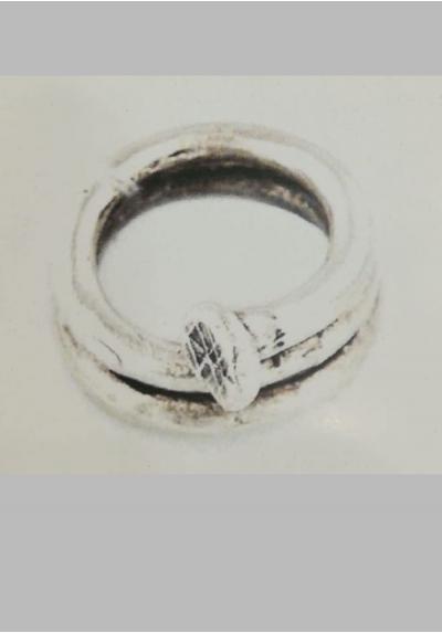 anello chiodo - stella by naturca