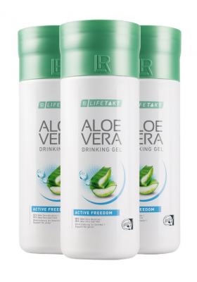 Aloe Vera Drinking Gel Active Freedom set 3 packs - LR