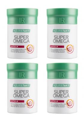 Super Omega capsule set 4 confezioni - LR