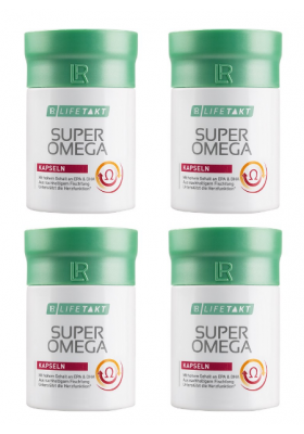 Super Omega capsule set 4 packs - LR