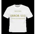ERROR 503 - NO SIGNAL