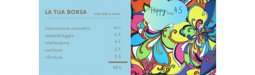 Hippy Bag 4.5  by Grazia .P